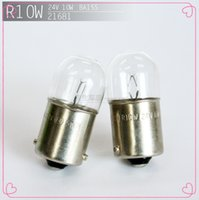 bead contacts - light beads Single contact BA15S v w width lamp line lights V R10W BA15S V W