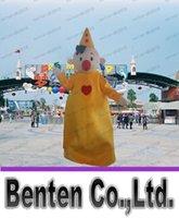 Latest de haute qualité chapeau jaune Boy Mascot Adult Costume Costume du personnage mascotte costume vacances vêtements spéciaux LLFA1204