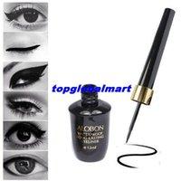 Cheap 2015 New Design Alobon Liquid Eyeliner Pen Not Dizzy Waterproof Liquid Eye Liner Pencil Black Makeup eye liner pen Black liner Long Lasting