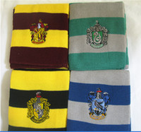 Wholesale Gift Fashion Harry Potter Scarves Ravenclaw Scarf Accessories Gryffindor Scarf Magic School Slytherin Scarves