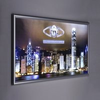 Wholesale 12W V LED Light Boxes LED Advertising Display Light Boxes CM Thickness Long Service Life Sale