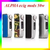 alpha wolf - High Quality Alpha W Box Mod Alpha mod battery blue black Silver Camou alpha w VS tesla box snow wolf Wismec rx200