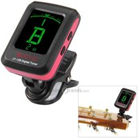 Wholesale JOYO JT B beginners essential tool Degrees Convenient and quick Rotation LCD Guitar Tuner for Bass Ukulele Violin
