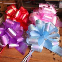 ball hong kong - 7080 fleshy come Hong Kong pulled monochrome pearl flower ball gift flower gift flower wedding car pull flowers Queen