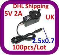 Wholesale car DHL V A DC x0 mm Power Charger AC Adapter for Tablet PC like Flytouch Flytouch etc