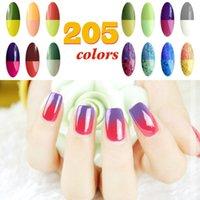 best base coat nails - Choose Colors Top Coat Base Gel Cristina Newest Fashion Nail Gel Polish Best ML Temperature Change Color UV Gel