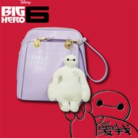 Wholesale Big Hero Wallet Baymax Purse Monsters University Credit Card Sulley Key Holder Passport Cover Kawaii Clutch Toy Story Women Necessaire