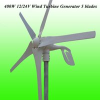 Wholesale 2015 Years Warranty Hot Selling Low Wind Speed Starting Blades W V V Wind Generator