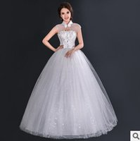 Wholesale wedding dresses Jewel lace Hot sale A Line Wedding Dresses new arrival Jewel