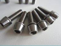 Wholesale Titanium Bolt Screw Allen Head M5 x mm