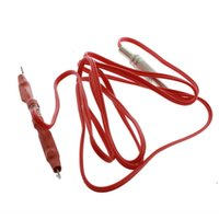 Wholesale New1pcs Professional Tattoo Clip Cord Adapter Phono Plug Feet M for Machine Gun Power Supply