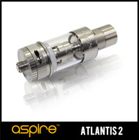 3.0ml aspire cooler - Genuine Ml Aspire Atlantis Pyrex Tank oHm BVC Organic Cotton Coil Preinstalled Steel Drip Tip with Optimal Cooling System