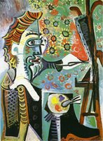 artist picasso paintings - Hand painted oil art of Pablo Picasso high quality An artist abstract style modern painting
