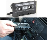 Wholesale 100X New Audio Car Cassette Tape Adapter Converter MM For Iphone Ipod Nano MP3 AUX CD