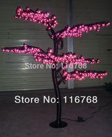 Cheap 1.5M High Quality Outdoor Lighting Pink LED Christmas Bonsai Cherry Tree Lights