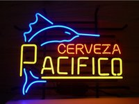 beer sign - NEW PACIFICO MEXICAN CERVEZA NEON SIGN REAL GLASS TUBE BEER BAR PUB Neon Light Signs store display