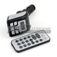 Wholesale 10pcs Quality Handsfree Car Kit MP3 Player Bluetooth FM Transmitter Modulator