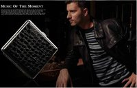 Wholesale 2015 New Coming PU Material Sigarette Case Holds Cigars Black Color Stone Pattern Slim Cigarette Cases Men