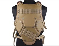 Safety Clothing airsoft vest tan - Army Tactical Military protective vest kumgang for cs cospaly Tf3 airsoft hunting paintball live action huting wargame Tan