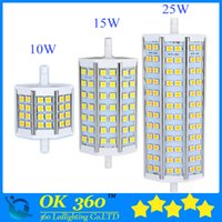 R7S LED 10W 12W 15W 20W 5050 ampoule de maïs 78mm 118mm lampe ampoule LED R7S 189mm NO-dimmable 5050 lampe de maïs projecteur halogène 85V-265V