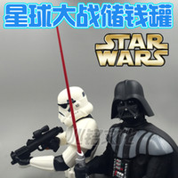 Wholesale STAR WARS Star Wars Darth Vinda Samurai black white pawn bust piggy piggy doll