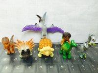 7PCS / set Les bonnes figures Dinosaur Jouets Dinosaur Figure Doll Toy Dinosaur Modèle Figurines d'action Cadeaux de Noël Doll enfants Livraison gratuite A-20