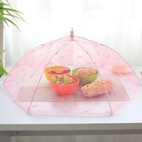 bamboo tent - Food Umbrella Cover Picnic Barbecue Party Sports Fly Mosquito Net Tent Food Cover hv3n