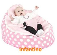 bean bag pink - PINK POLKA new arrival bean bag chair baby bean bag