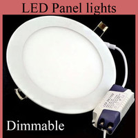 Cheap Cree Led Panel Lights Non-Dimmable 9W 12W 15W 18W Led Recessed Downlights Lamp Warm Natural Cool White MBD002
