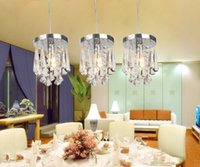Wholesale Factory Aisle porch balcony restaurant crystal lamp modern minimalist crystal chandelier head
