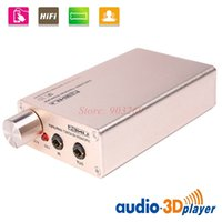 Wholesale 1set Home Hi fi Stereo Portable Mini Digital Audio Amplifier For MP3 Mobile Music Player