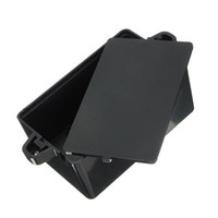 Wholesale Top Quality Black Waterproof Plastic Cover Project Electronic Instrument Case Enclosure Box