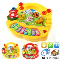 baby animal mobile - CP1331 Baby Kid s Animal Farm Mobile Piano Smart Music Toy Electric ENGLISH Early Christmas Gift