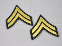 army corporal - 2016 New Arrival Badge Fallout Multicam Perfect Version Of The Us Army Rank Insignia Usarmy Green Uniforms Armband Corporal E4