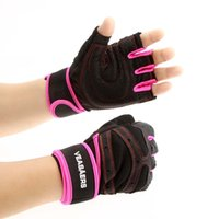 Wholesale Multifunction Sports Gloves Fitness Exercise Training Weight lifting Gloves Gym Half Finger Gloves Sweat Absorption