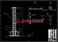 Wholesale SS100100 construction elevator drawings Full Machining drawings ATUO CAD