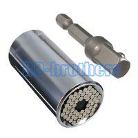 Wholesale Good quality MM Gator Grip Universal Socket multifunctional Hand Tool Repair Kit Screwdriver Wrench Adapter set