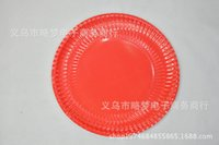Wholesale 100pcs bag Party Supplies factory direct wedding supplies disposable tableware creative thread tray tray