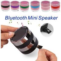 camera mini tablet pc - Bluetooth Mini Speakers Portable Super Bass Camera Lens Hifi Loudspeaker TF Slot FM Radio MP3 Player Mic for Smartphone Laptop Tablet PC DHL