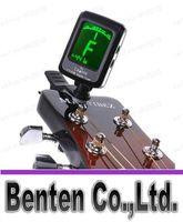 Wholesale llfa237 LCD Clip on Guitar Backlight Tuner For Electronic Digital Chromatic Bass Violin Ukulele