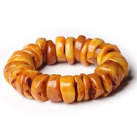 beeswax wood - Poland natural stone belt leather bracelet honey beeswax hand string old male female free drop shipping