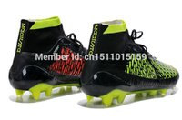 Wholesale high top football boots football boots soccer shoes sports shoes men s fashion soccer cleat sneaker