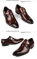 clothes and shoes - Fashion leather Italian Oxford sneakers of regular brand men s clothes buckle rubber shoes