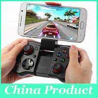 El más nuevo iPega PG-9033 Controlador de juegos inalámbrico Bluetooth Controle Gamepad Joystick Android para iPhone Android iOS PC TV 010209