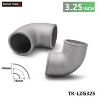 Wholesale TANSKY High Quality Universal mm quot Cast Aluminum Elbow Degree Pipe Turbo Intercooler coupling TK LZG325