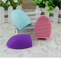 Wholesale Hot selling X Silicone Cleaning Cosmetic Makeup Brush Gel Cleaner Scrubber Tool Foundation Makeup Tools