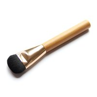 beige foundation lot - Foundation Brush Fiber Makeup Brushes with Bamboo Handle Make up Tools and Accessories For