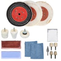 alloy wheel polishing - 16Pcs quot X quot Alloy Wheel Polishing Mop Polishing Wheel Polishing Pad