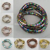bendable necklaces jewelry - mm cm fashion Flexible Snake Bendable Bracelets Belt DIY Bendy Hot Twist Bracelet Jewelry Necklace Chain