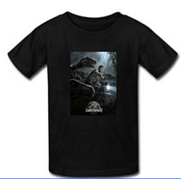 best custom motorcycles - 2015 New Best Jurassic World Motorcycle Cotton Men T Shirt Custom Male Cloth Summer Man T Shirts Size S XXXL